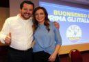 Lucia Borgonzoni e Matteo Salvini,