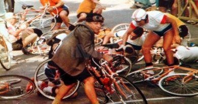 gara ciclistica fantozziana in Mobike