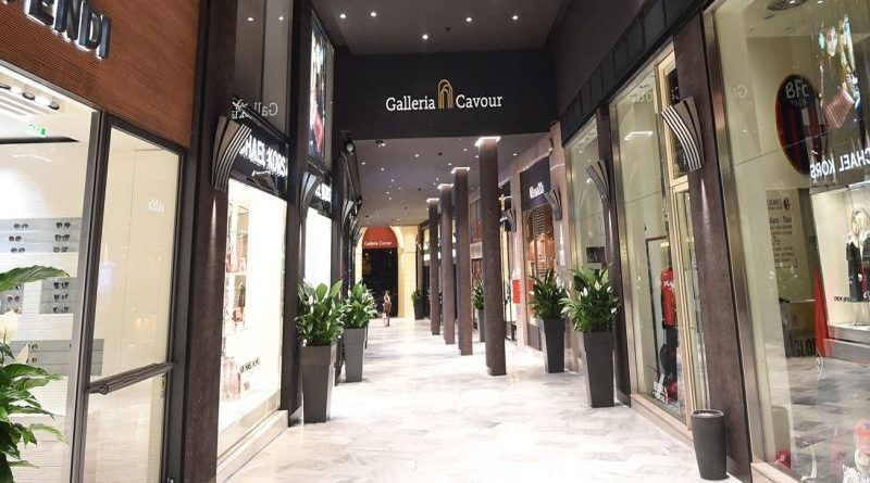 galleria cavour a Bologna