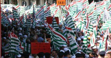 Manifestazione sindacati in piazza a Roma il 9 febbraio 10mila persone dall'Emilia-Romagna