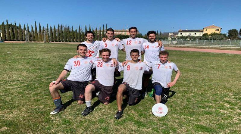 Ultimate frisbee vincono le due squadre del cus bologna