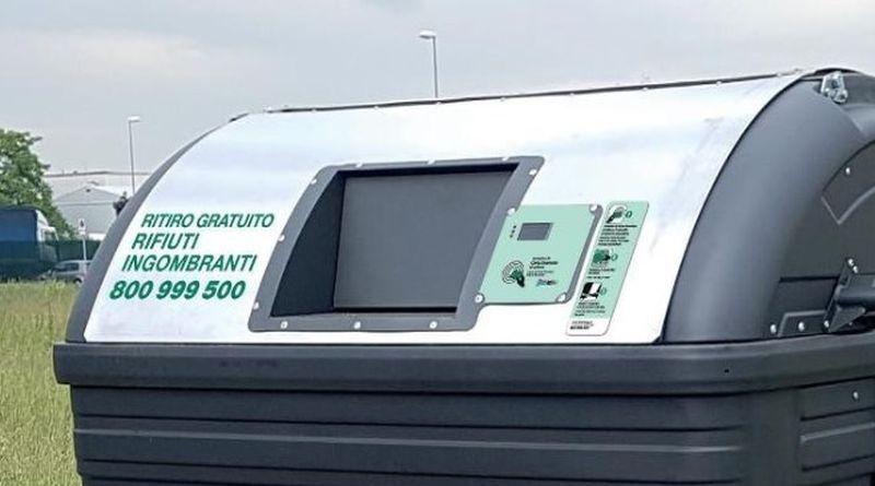 cassonetto immondizia carta smeraldo da domani al quartiere Savena