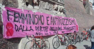 sciopero globale femminista e antirazzista 8 marzo a Bologna festa della donna