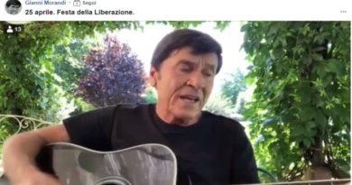 Gianni Morandi canta Bella Ciao 25 aprile festa della Liberazione