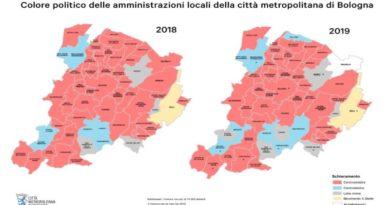 Elezioni comunali, i numeri e la mappa politica dei comuni del Bolognese