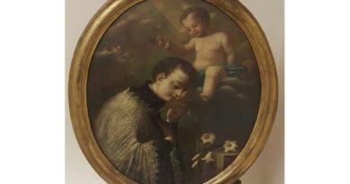 Era in vendita su internet, ritrovato un dipinto del Settecento rubato in una chiesa