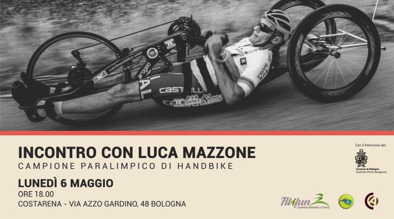 Luca Mazzone, il campione paralimpico di handbike si racconta