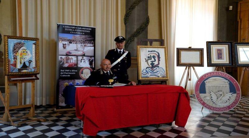 Opere di Picasso e Monet contraffatte e vendute