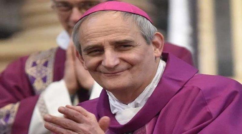 Monsiglior Matteo Zuppi arcivescovo di Bologna