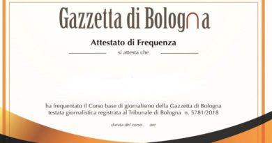 Corso di Giornalismo Gazzetta di Bologna