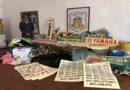 gadget automobilistici contraffatti sequestrati alla Mostra scambio Crame 2019