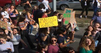 manifestazione clima Bologna