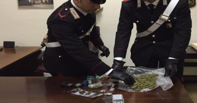Pusher tenta la fuga addentando un carabiniere, arrestato