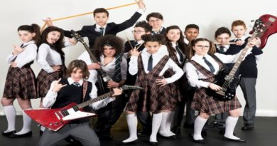 School of rock, a Bologna il musical per giovani rockers