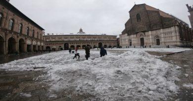 neve ghiaccio Bologna