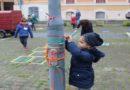 I bambini colorano il quartiere Saragozza