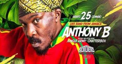anthony b bologna reggae