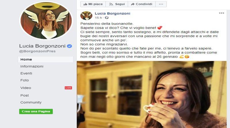 borgonzoni propaganda facebook