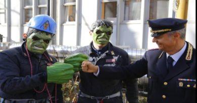 hulk polizia bologna