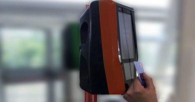nuova validatrice bus bologna tper