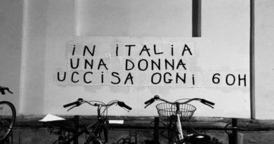 collages muri di bologna femminicidi