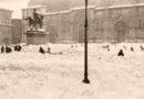 Successe oggi a Bologna, una delle più grandi nevicate nel 1929