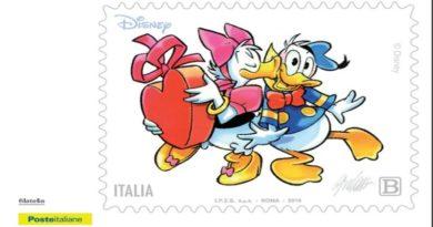 poste cartoline disney bologna