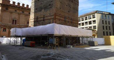 torre garisenda lavori bologna le due torri