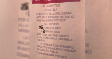 negozi cinesi chiusi a Bologna