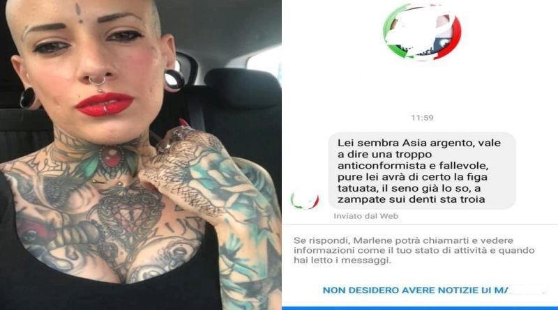 elettra manson tatuaggi bologna