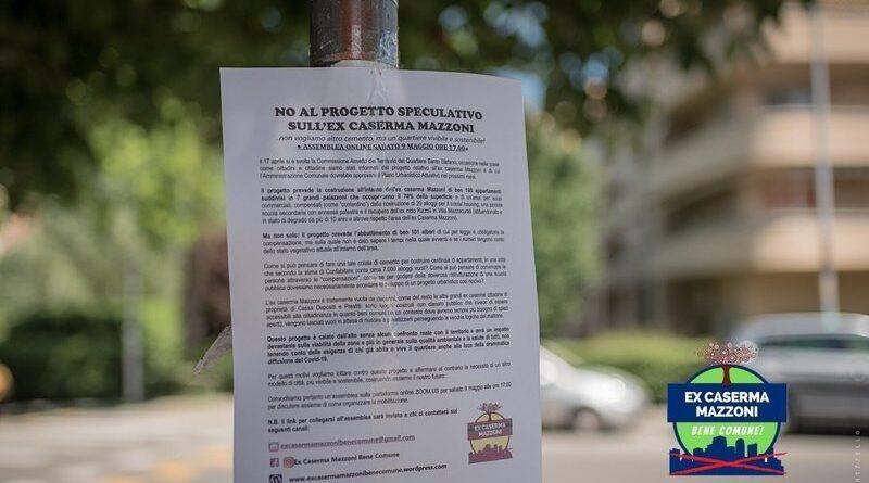 petizione caserma mazzoni santo stefano bologna