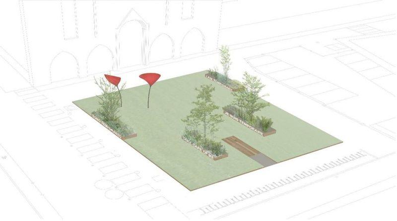 piazza rossini bologna prato erba