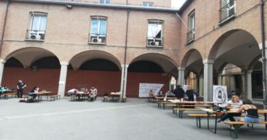 piazza studio scaravilli bologna universitari sale studio