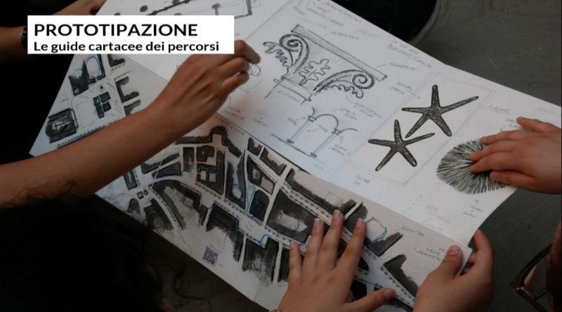 mappa cartina di Bologna per chi ha una disabilità visiva