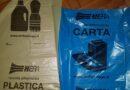 rusco bologna centro storico sacchi raccolta differenziata carta e plastica ritiro