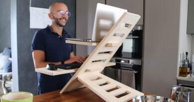 scrivania in piedi bologna crevalcore idea innovativa startup