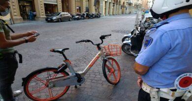Trovato con una biciclettaMobikerubata, denunciato un turista belga