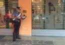 Forza la saracinesca di un bar per rubare e per sfuggire ai carabinieri si nasconde dietro una siepe, arrestato