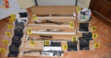 fucili pistole droga bolognina bologna