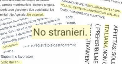 affitto bologna no stranieri solo italiani razzismo discriminazione