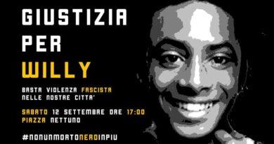 Giustizia per Willy, Bologna scende in piazza