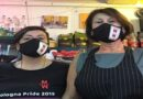 Miky e Max Bar protesta flash mob bologna contro dpcm