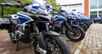 ducati moto bologna polizia