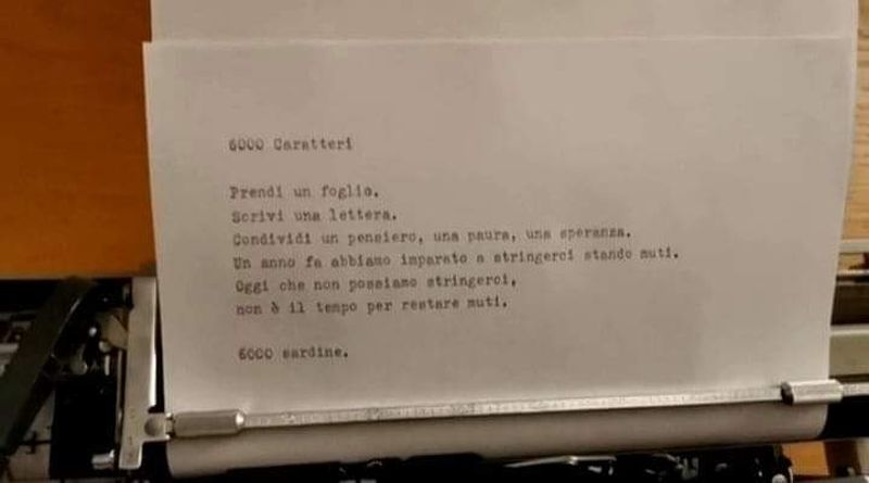 sardine 6000 caratteri bologna