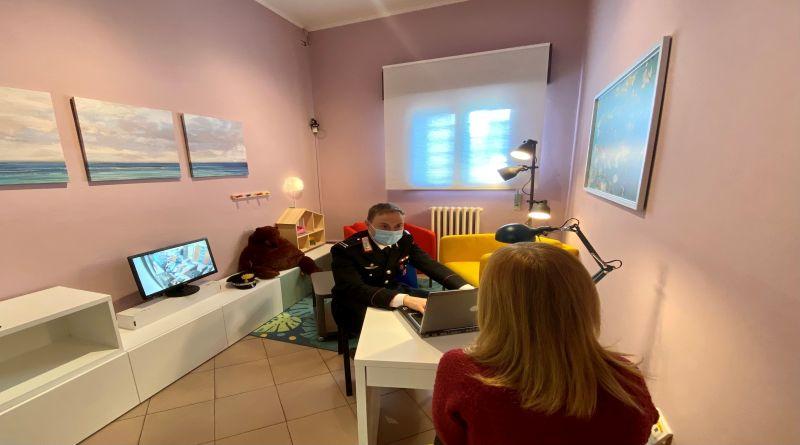 stanza rosa sasso marconi carabinieri vittime violenza donne 25 novembre bologna