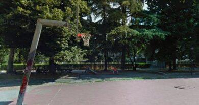 campo da basket paladozza bologna campetto playground basket