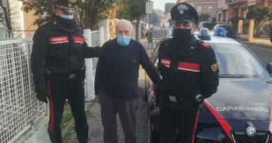 auto rubata anziano 101 anni imola