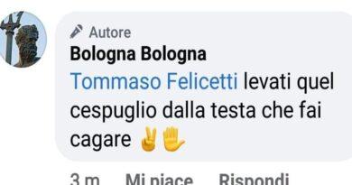 bologna bologna offese insulti destra salvini melon