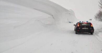 neve bologna appennino bolognese emiliano pericolo valanghe 3 gennaio 2021
