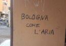 Scriveva su una colonna in via Mascarella, studentessa fuori sede denunciata